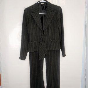 Jackets & Blazers - Womens 3pc Pinstripe Suit